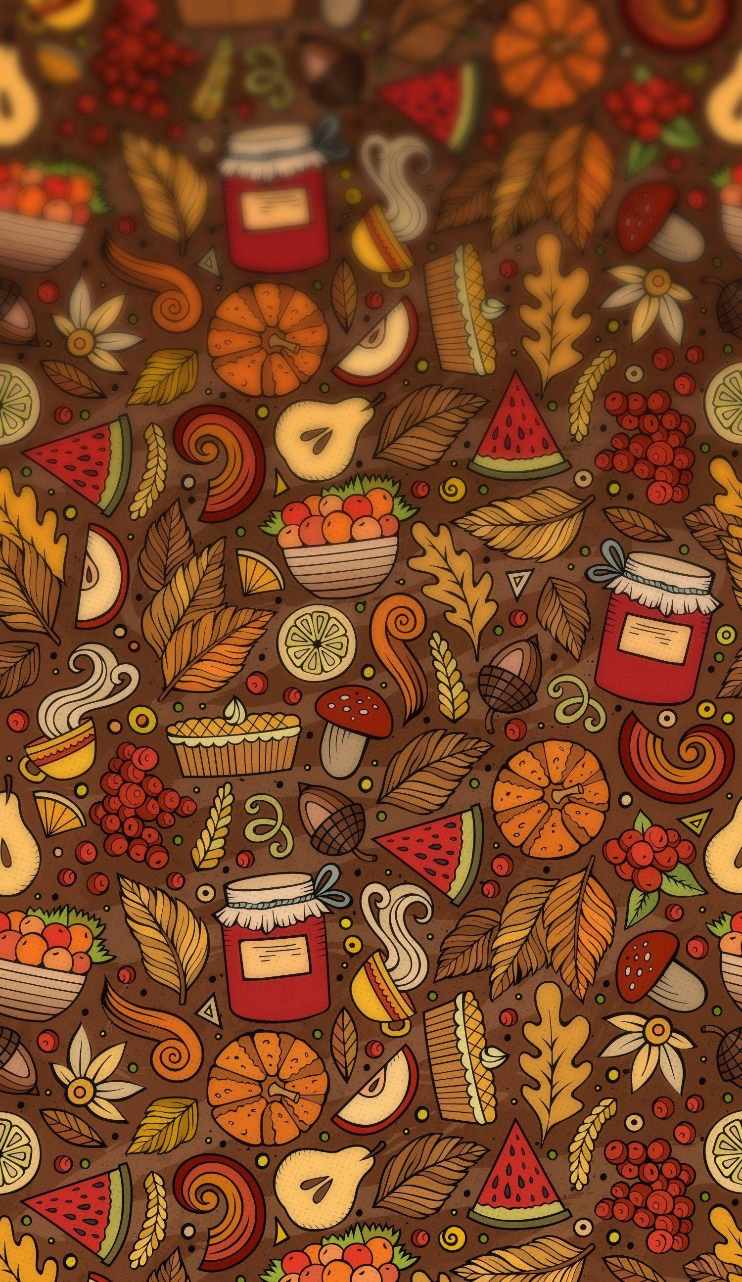 Thanksgiving 1000 in 2020 Fall wallpaper, Plain