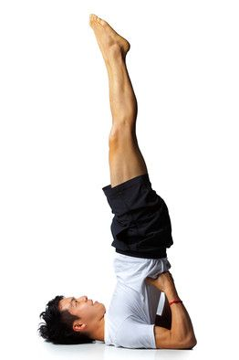 benefits of hanging upside down  yoga fitness yoga for
