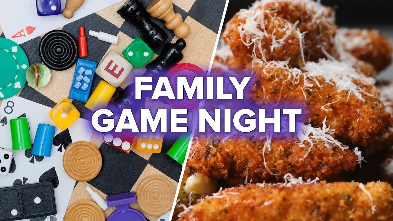 Family Game Night Recipes YouTube Game night food