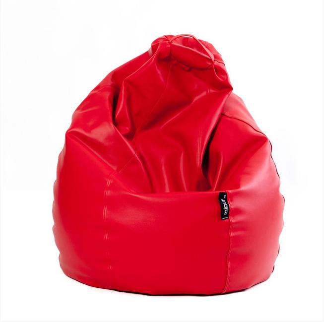 Puf Pera XL Rojo
