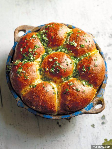 """Pampushka"" Garlic Bread"