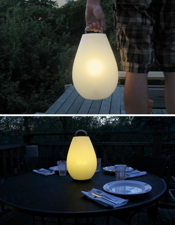 Luau Portable Lamp   OXO