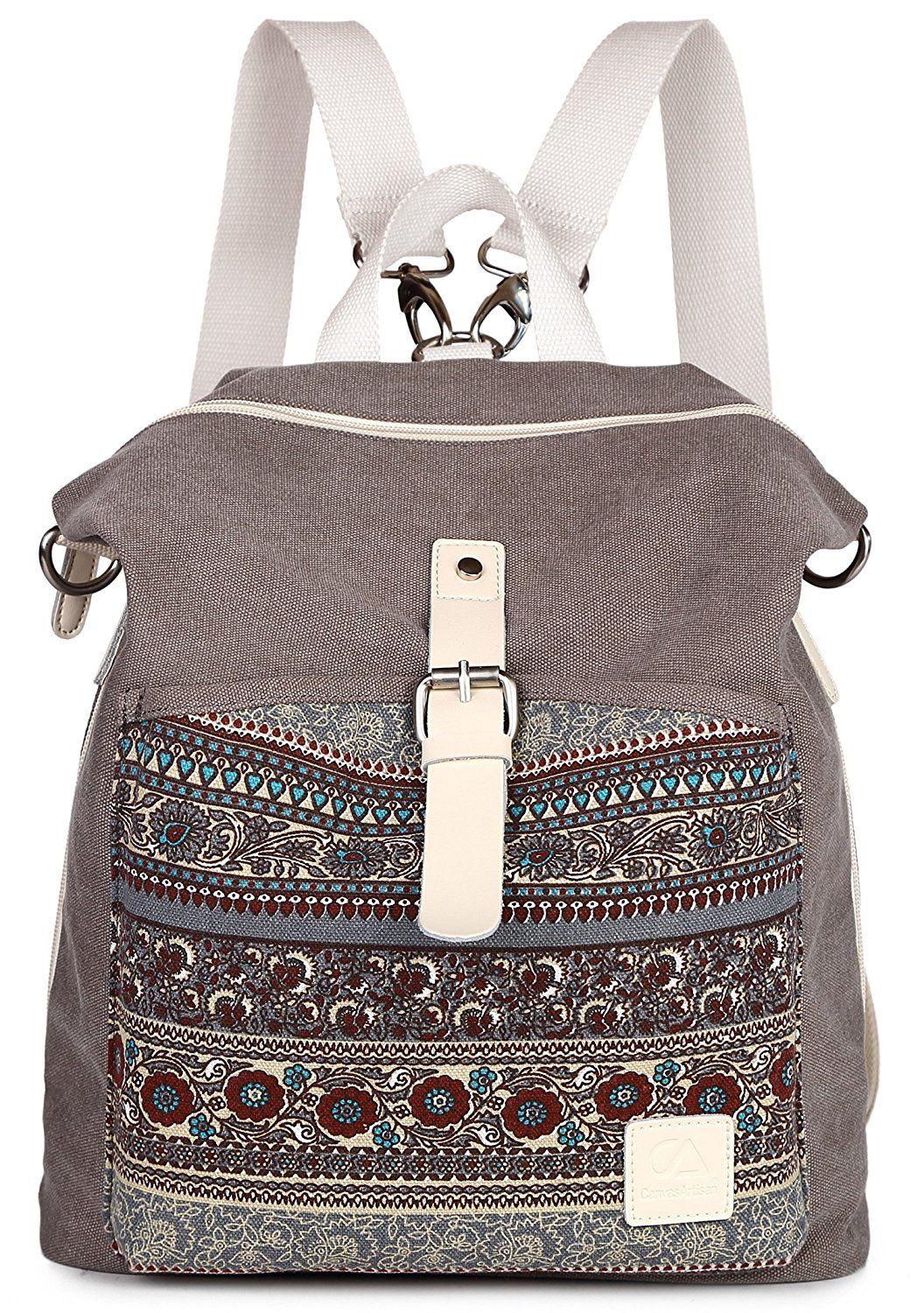 Amazon.com  ArcEnCiel Women Girl Backpack Purse Canvas Rucksack Shoulder 1f9ad8eabfac5