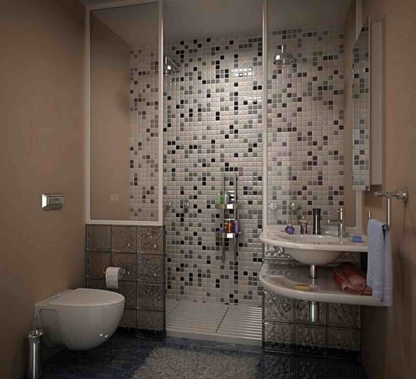 Images Photos Tile Image result for tiny bathroom ideas