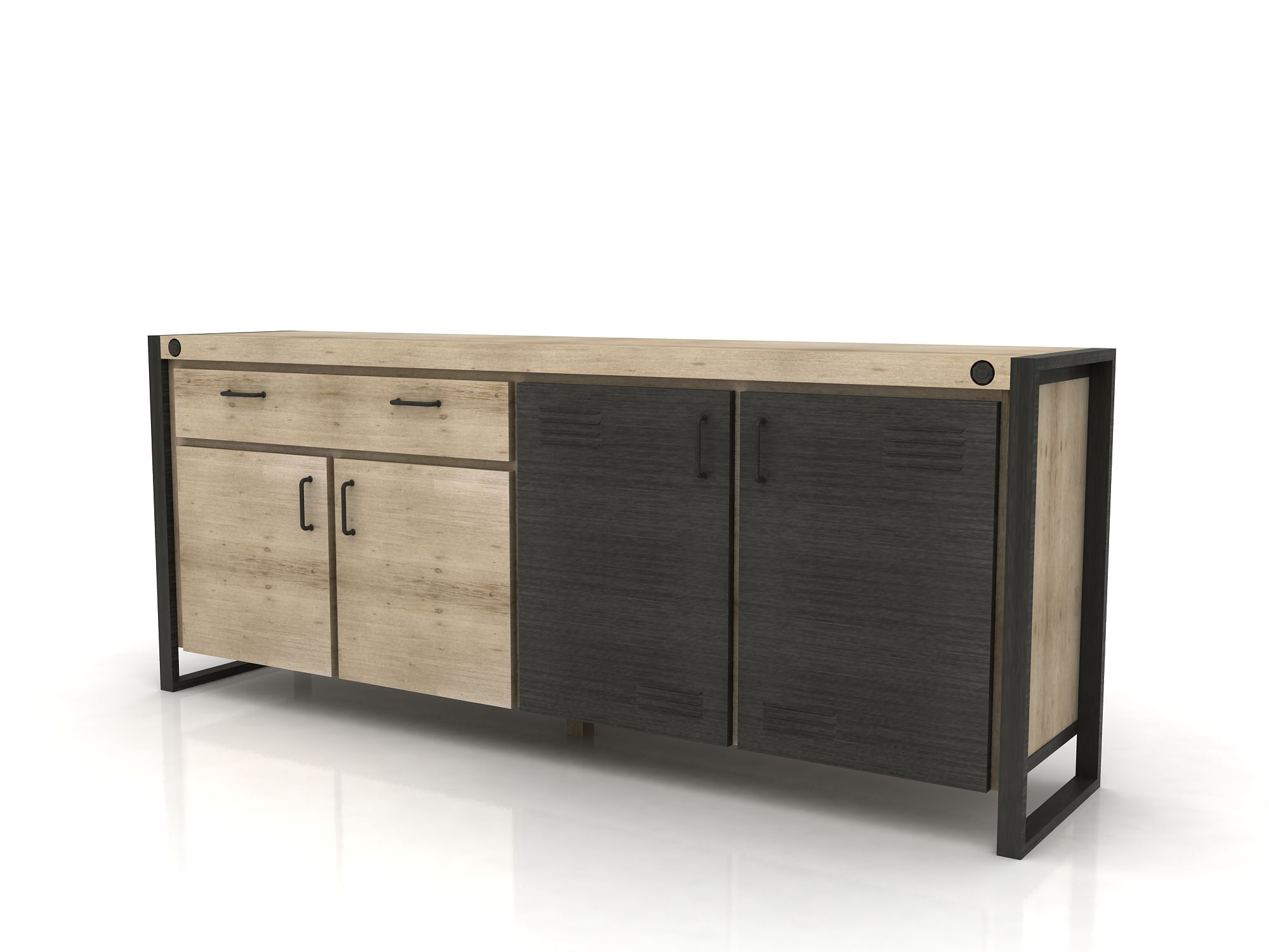 Epingle Par Pier Import Sur Home Inside Buffet Enfilade Buffet Industriel Buffet