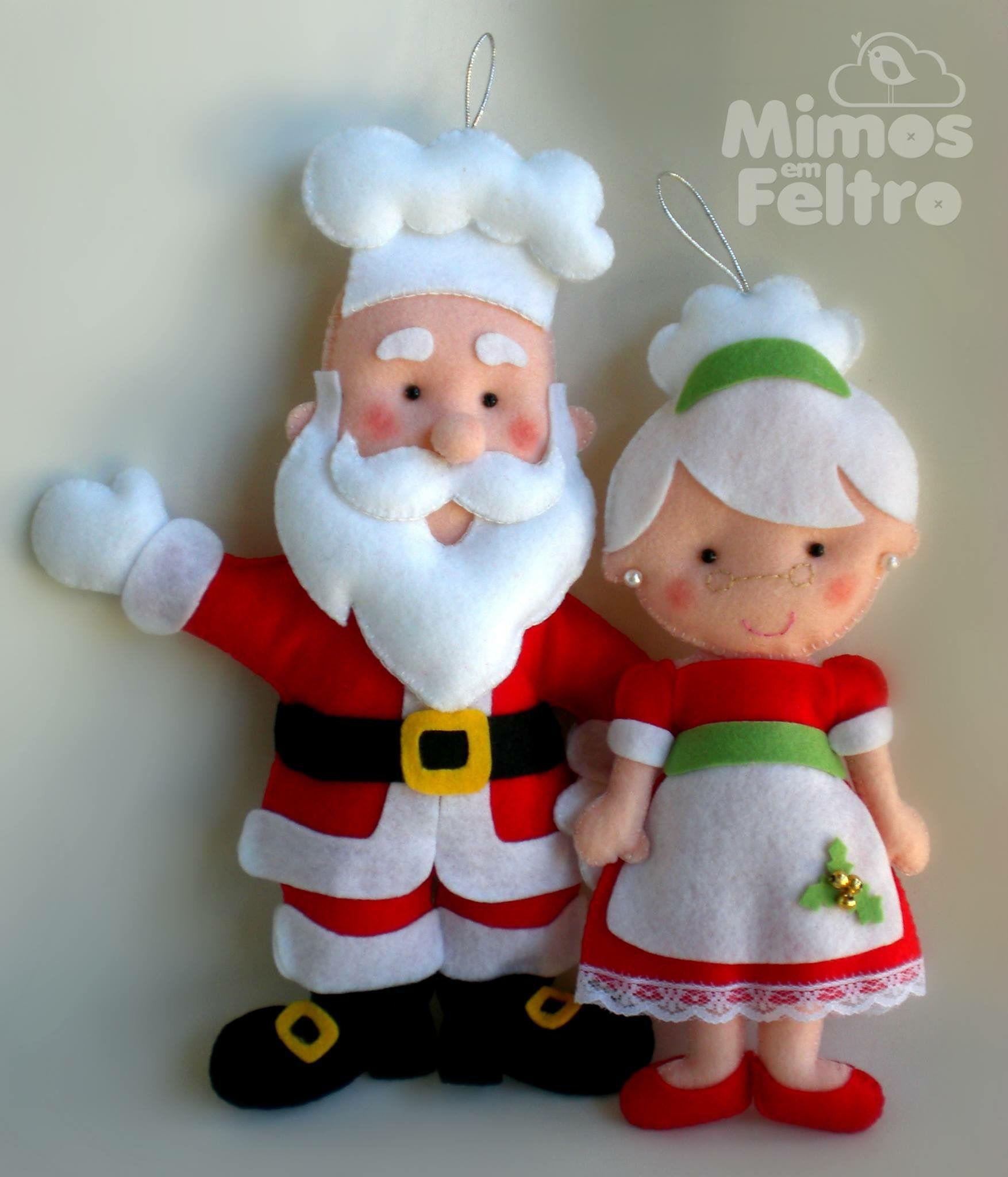 Pin De Ana Paula Winter En Natal Pinterest Manualidades  ~ Manualidades De Fieltro De Navidad