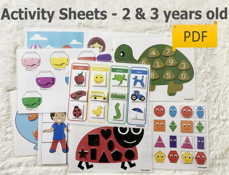 Quiet book match Preschool printables Kids activity binder Toddler busy book #3 Cut and glue File folder games Kindergarten learning
