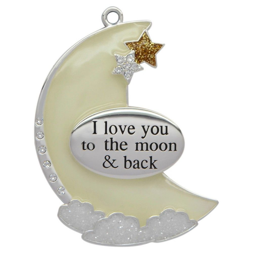 884b5795f655 Harvey Lewis Designs I Love You to the Moon Christmas Ornament ...