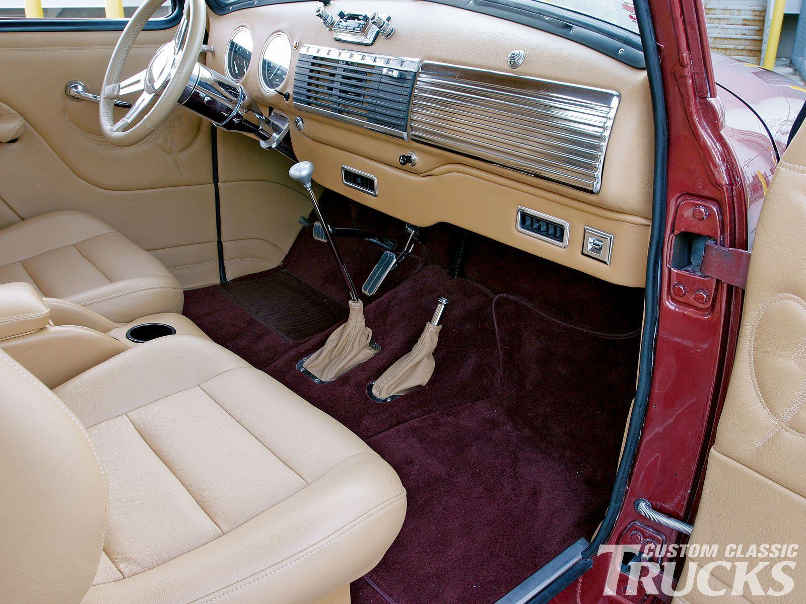 1950 chevy truck interior google search