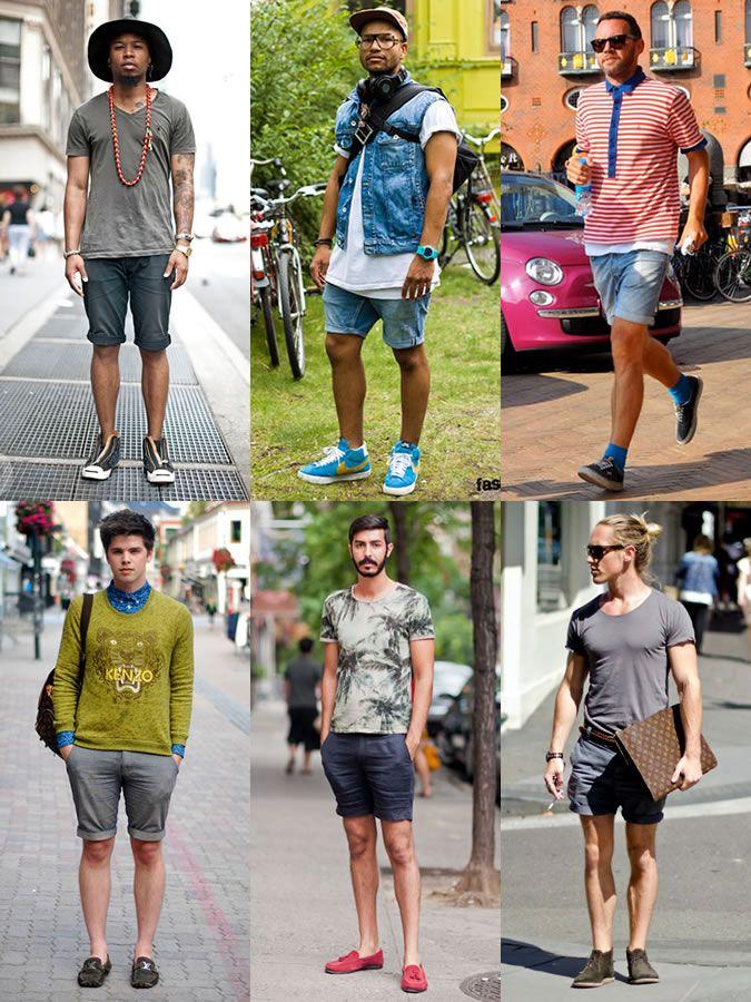 Men's Street Style - Denim Shorts | adoro me sentir bem com minhas ...