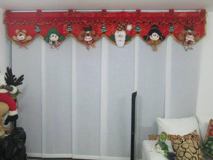 cortinas navideñas con luces - Buscar con Google cortinas