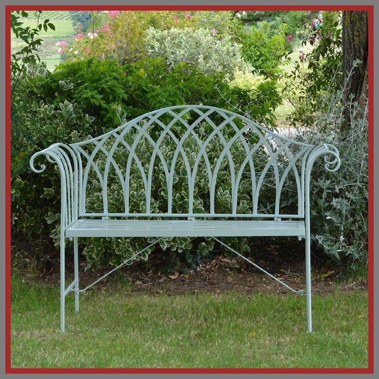 50 Reference Of Small Garden Benches Wrought Iron In 2020 Garden Bench Seating Metal Garden Benches Wrought Iron Garden Furniture