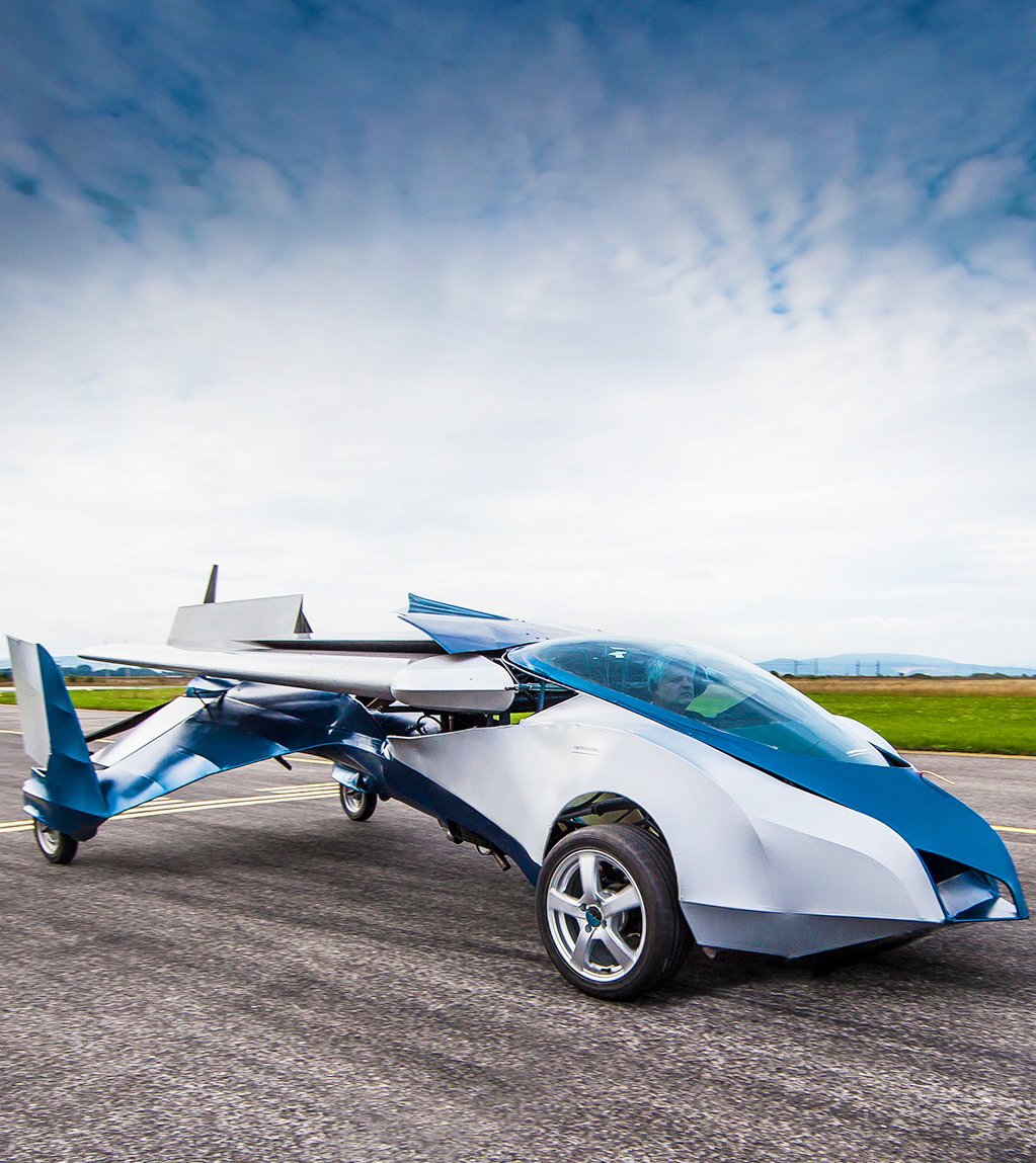 This Flying Car Is Better Than Anything the Jetsons