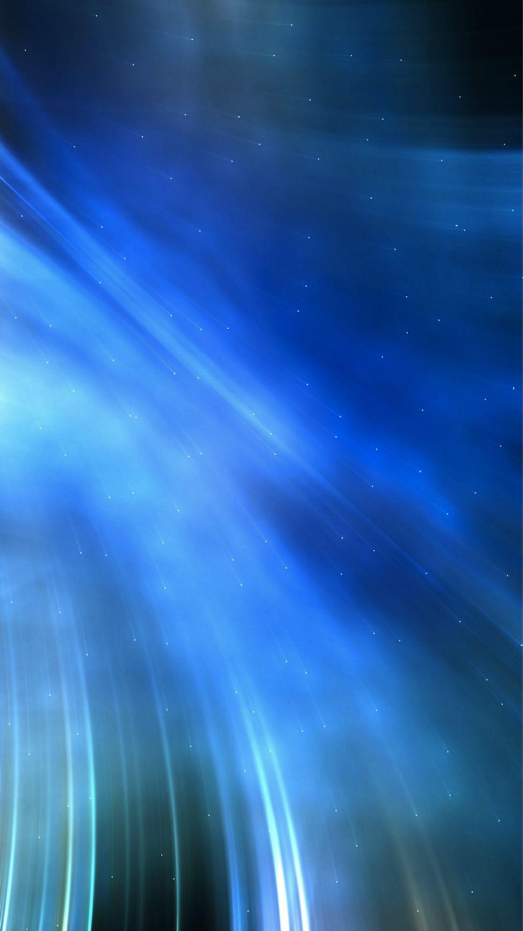 Abstract Blue Smoke Light Swirl Background iPhone 6