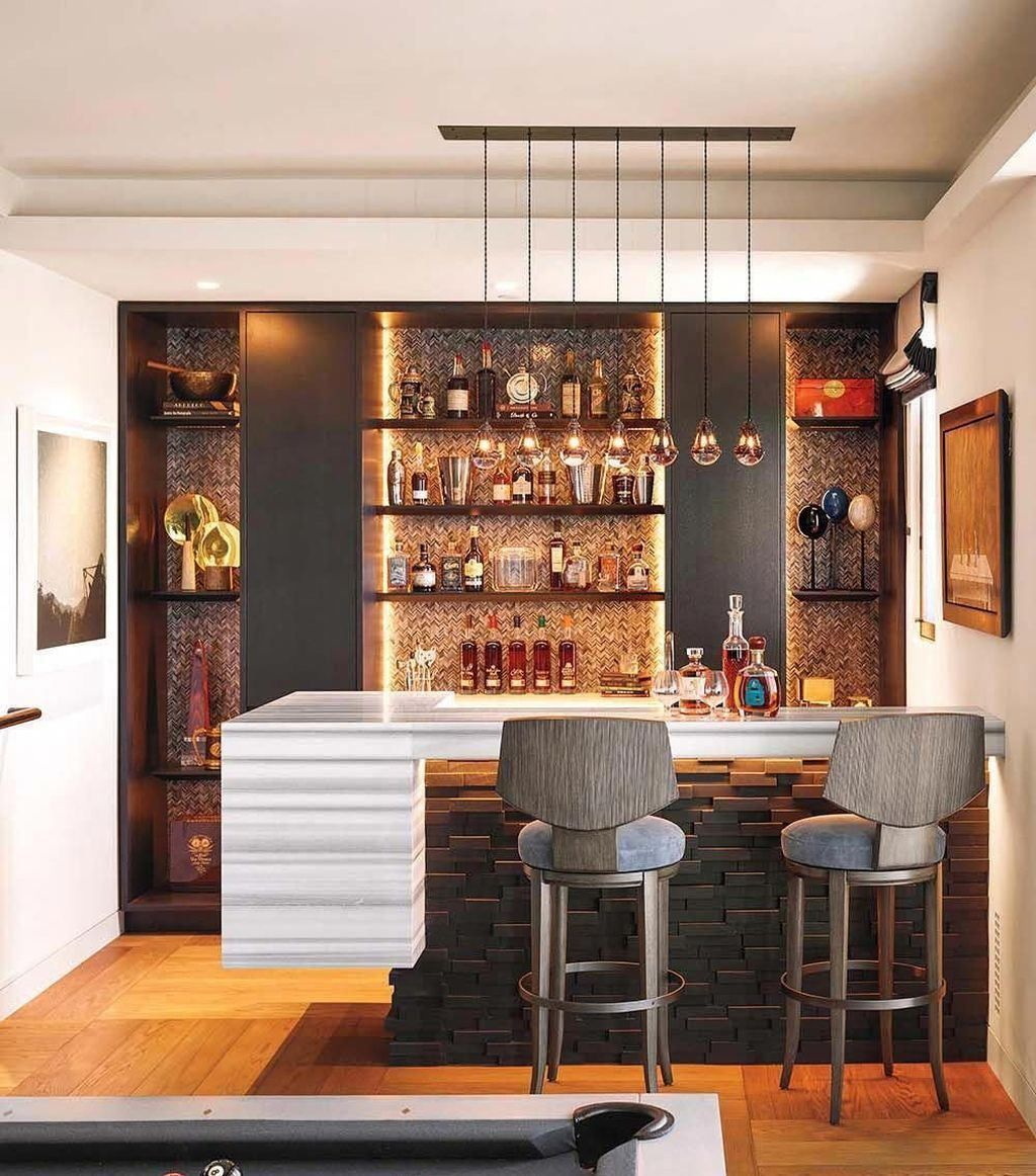 Interior Design Ideas Home Bar: 45 Outstanding Mini Bar Designs And Ideas To Steal In 2020
