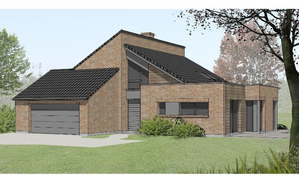 façade maison contemporaine - Pesquisa Google projetos de casas