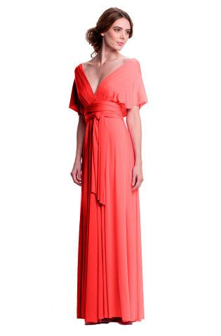 Convertible gown bridesmaid dress? Lots of different style options ...