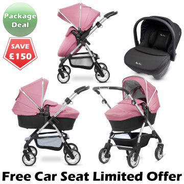 Buy your Silver Cross Package Deal travel system from our