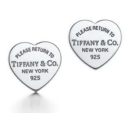 Personal beloved, Return To Tiffany Mini Heart Tag Earrings Jewelry