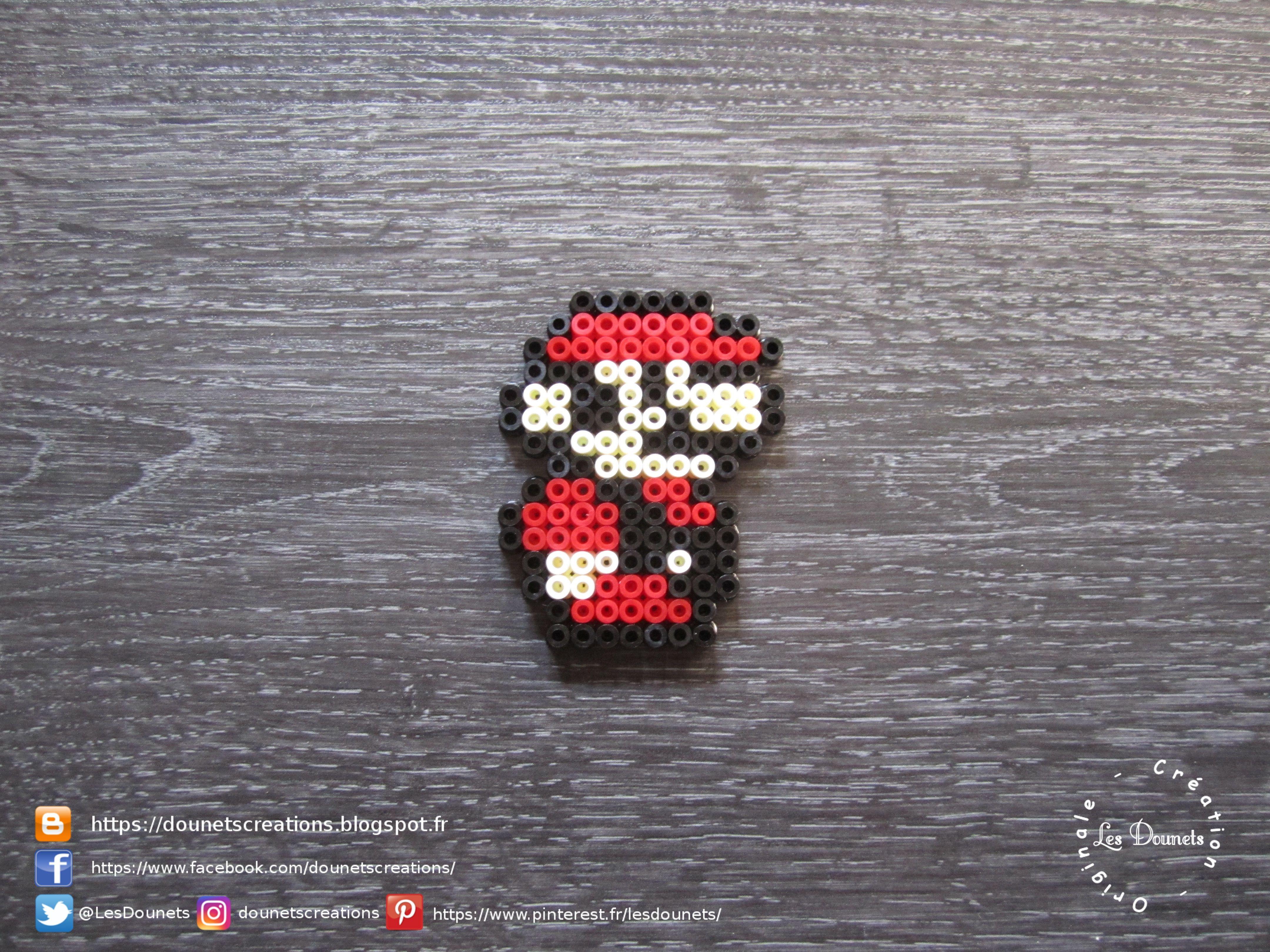Super Mario Bros 3 Petit Mario Perles Hama Super Mario Bros 3 Little Mario Perler Beads Super Mario Bros Perles A Tisser Mario Bros
