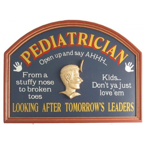 Pediatrician Wood Sign Professions Wood Signs Pinterest Wood - pediatrician job description