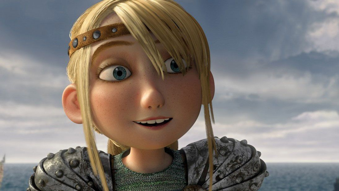how old is astrid in how to train your dragon