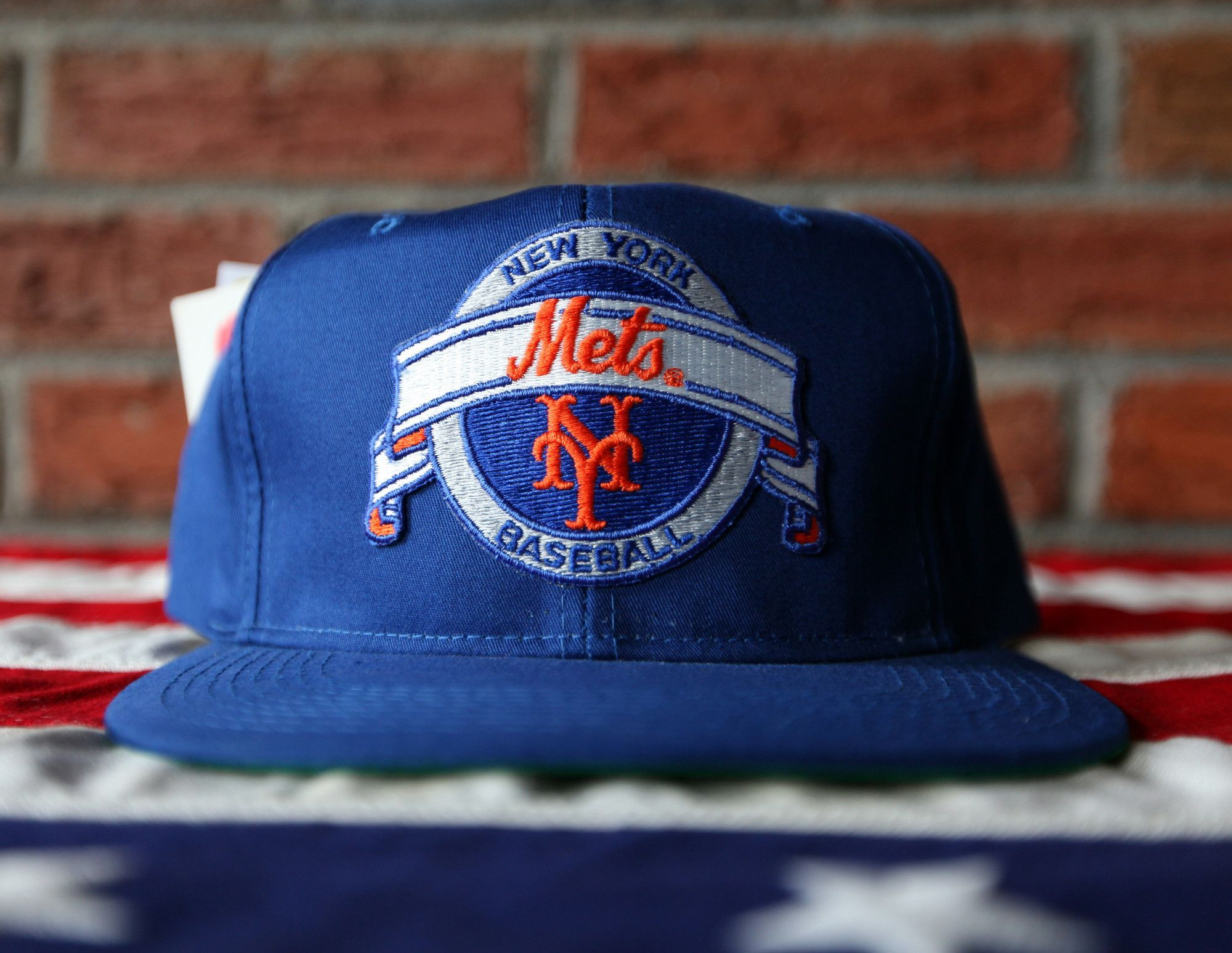 ... purchase deadstock vintage 80s new york mets new era cap co. snapback  hat af1ae c1109 ... 99715e8727b0