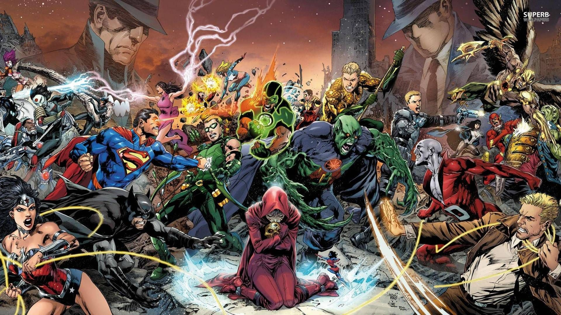 Justice League New 52 Wallpapers Background Cinema Wallpaper