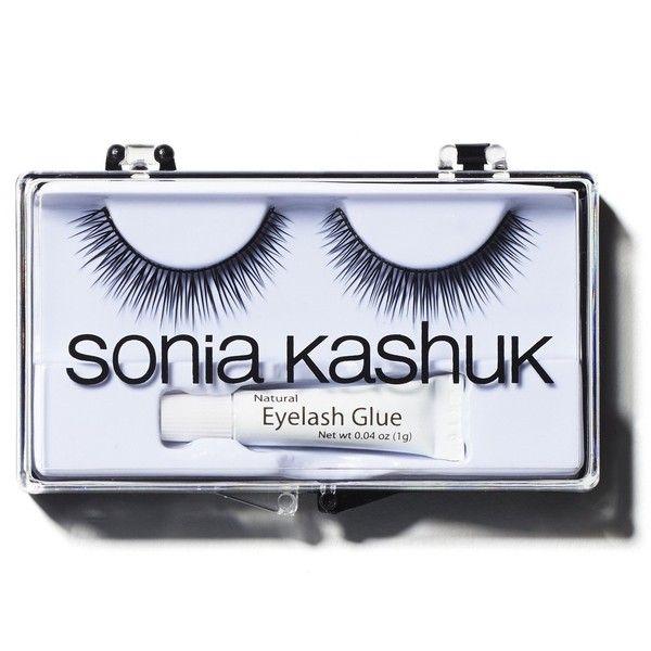 Sonia Kashuk Full Volume Eyelashes, Black (16 BRL) ❤ liked on Polyvore featuring beauty products, makeup, eye makeup, false eyelashes, acessorio, beauty, black and sonia kashuk