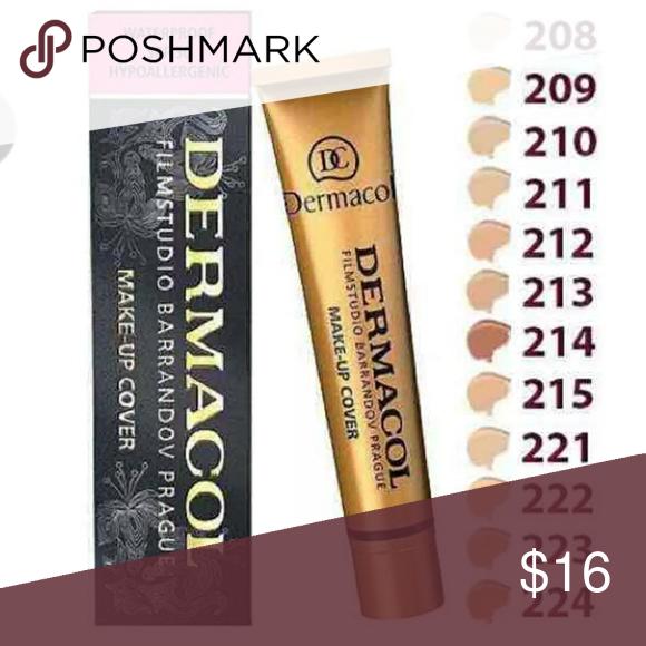 Dermacol Filmstudio Makeup Cover 210 NWT Dermacol