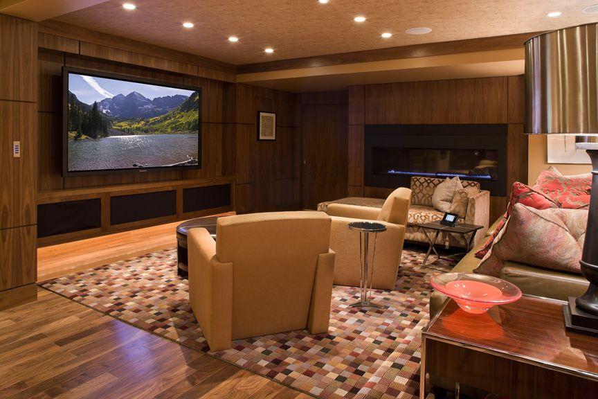 Basement Transformation Cedia Media Room Design Ideas Media Room Design Media Room Home