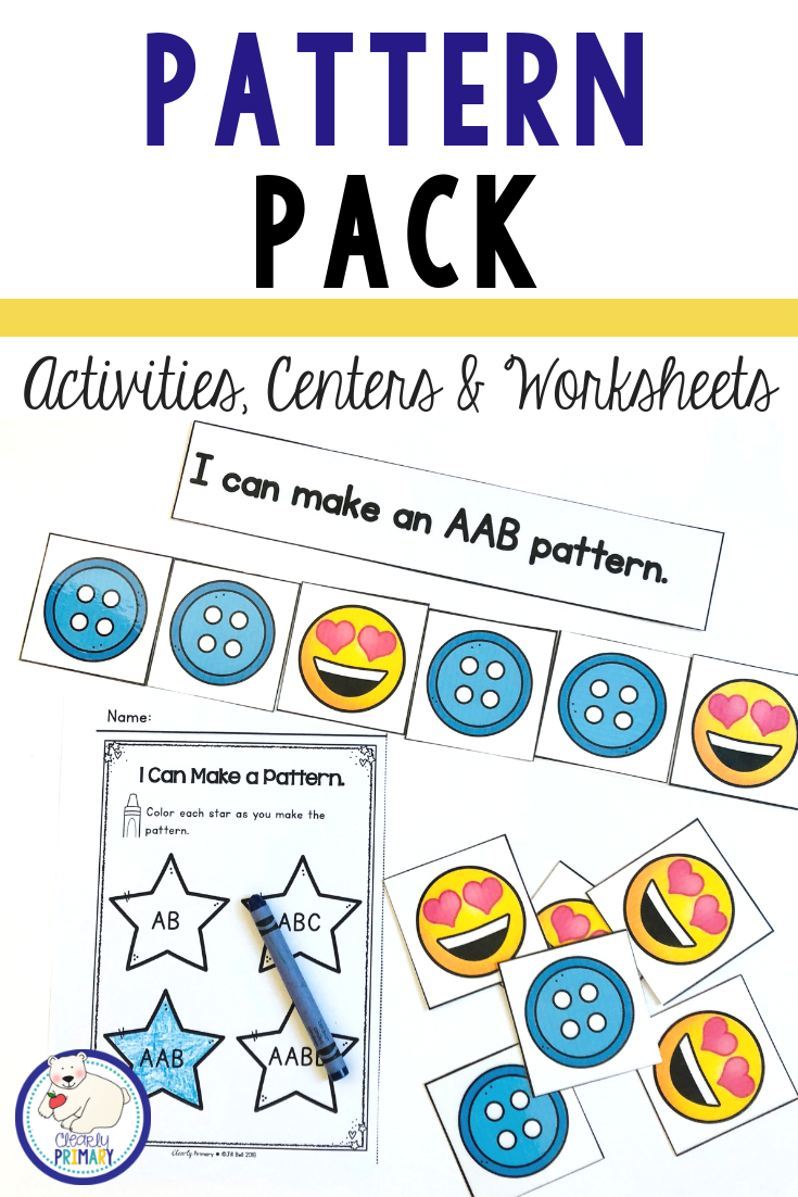 Looking For Some Fun New Ideas For Teaching Patterns The Pack Is Filled With Patterning Acti Pattern Activities Kindergarten Math Activities Teaching Patterns [ 1102 x 735 Pixel ]