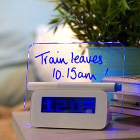Incroyable Scribble Writing Alarm Clock