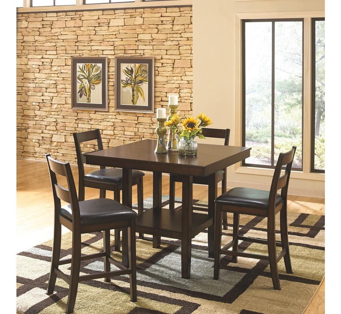 Incredible Porter 5Pc Dining Set Badcock More Dining Room Sets Gmtry Best Dining Table And Chair Ideas Images Gmtryco