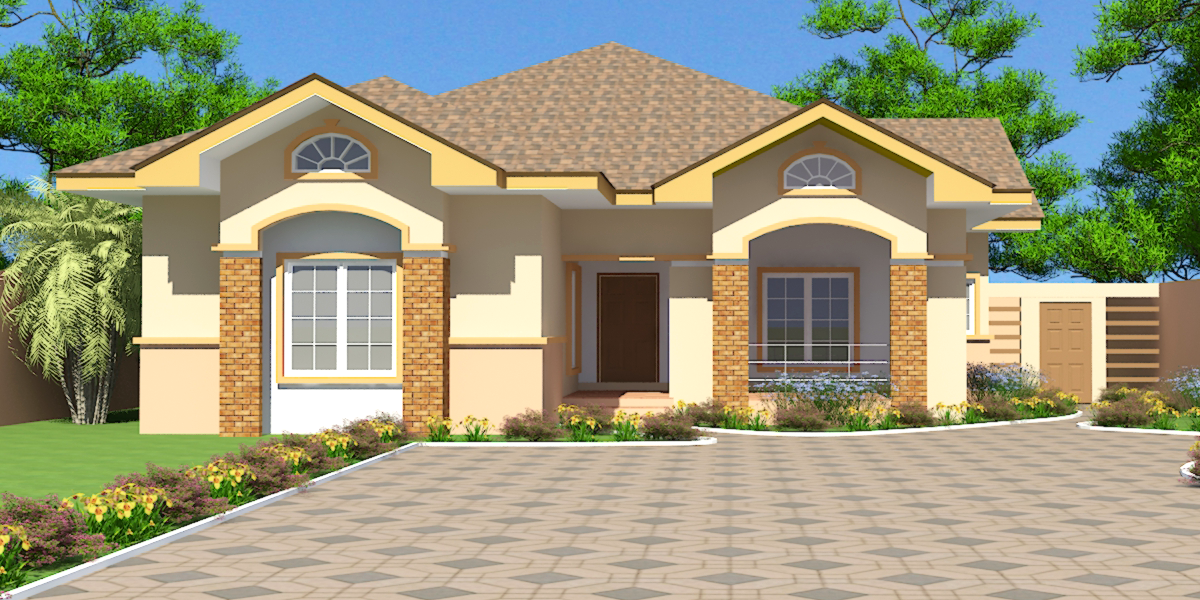 Ghana house plans nii ayitey house plan houses House plans in ghana