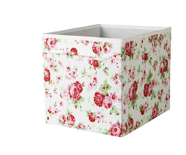 New Ikea DRONA Storage Boxes For Expedit Unit KATH KIDSTON