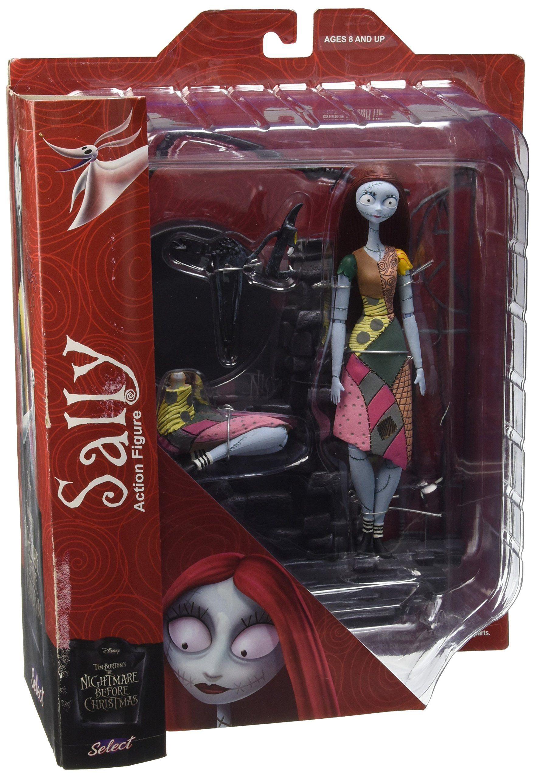 Nightmare Before Christmas Select Sally Action Figure. Based on Tim ...
