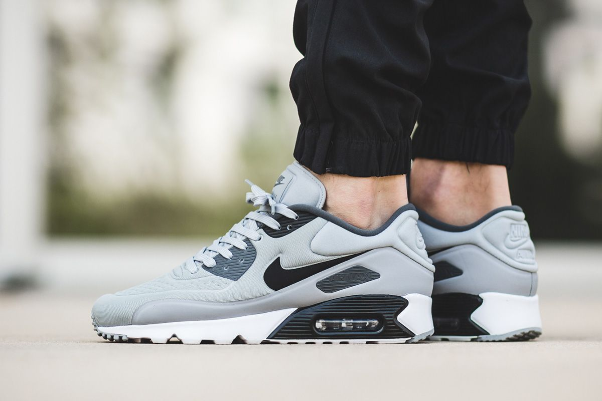 8f48779aa56c Buy Nike Air Max 90 Ultra SE Wolf Grey Black Trainers Online UK ...
