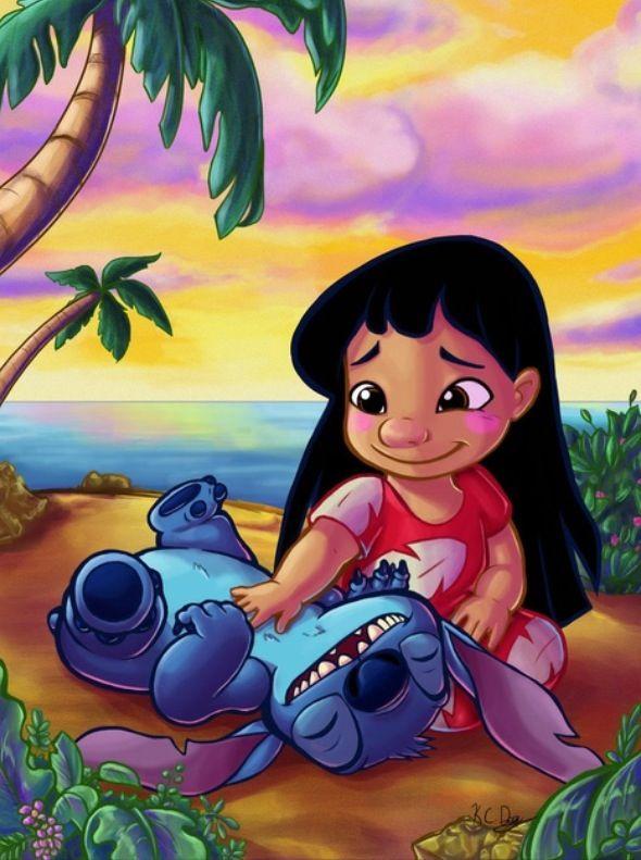 Quand Bebe Me Fait Des Papouilles Haha Stich Art Disney