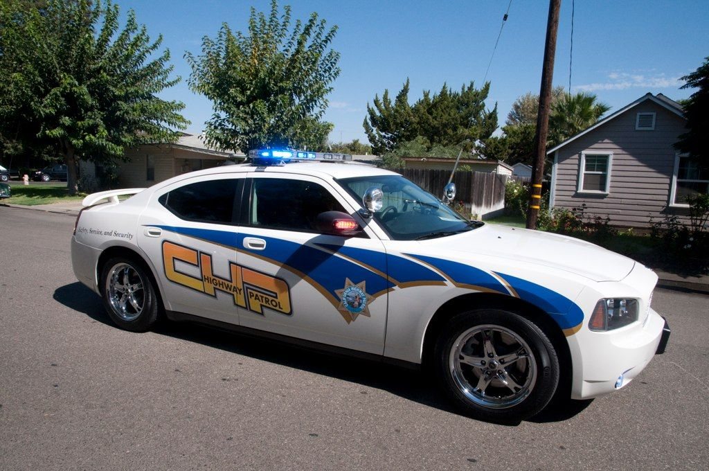 California highway patrol dodge charger side view code 3