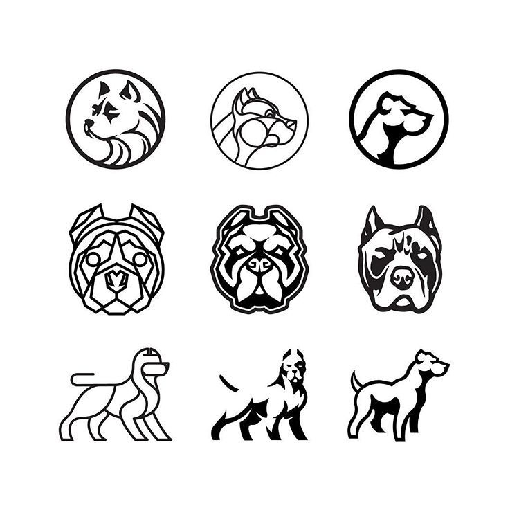 You like dags? ⠀⠀⠀⠀⠀⠀⠀⠀⠀ Here's a collection of dog marks