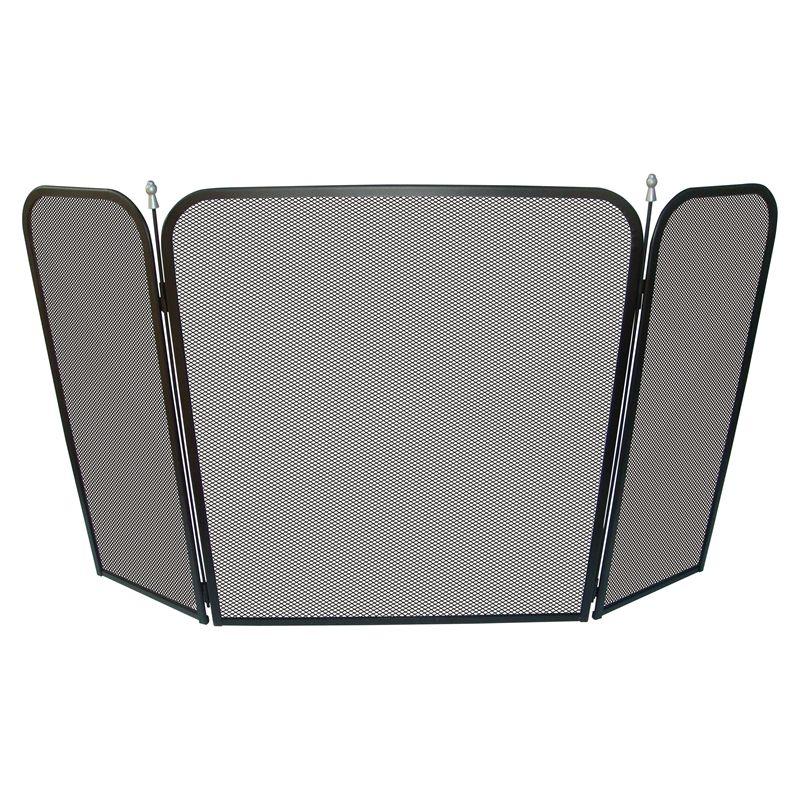 Find Jumbuck 120 x 70cm Tri-fold Steel Fire Screen at ...