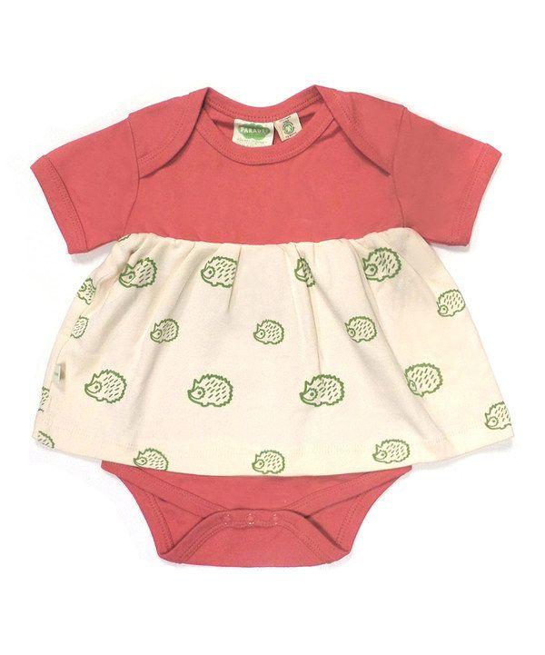 a5bb842dc Red Hedgehog Organic Skirted Bodysuit - Infant