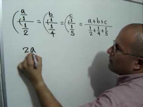 Reparto Proporcional Inverso Julio Rios Explica Un Problema Sobre Reparto Proporcional Inverso Matematicas Educacion Inversa