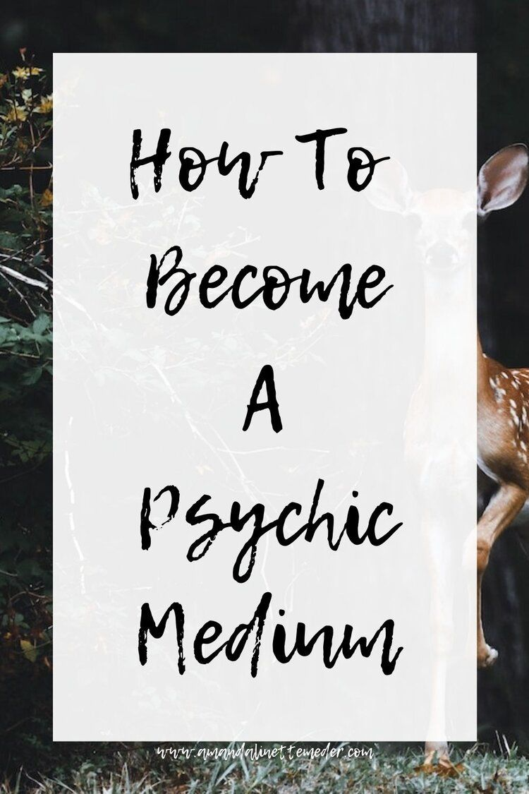 How To Become A Psychic Medium Amanda Linette Meder Psychic Medium Development Psychic Medium Readings Psychic Mediums