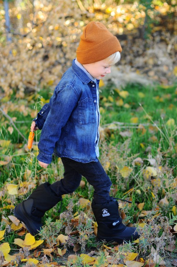 Trendy Fall Boy Outfit