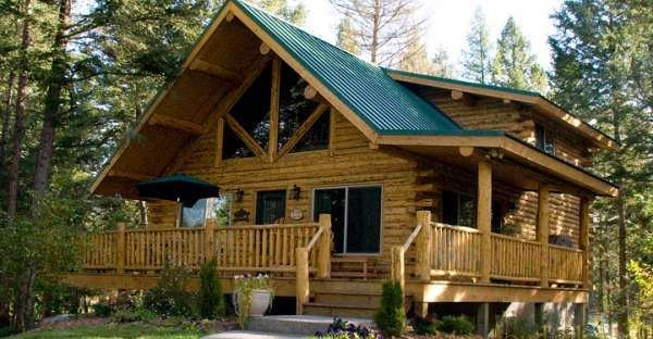 Swiss Chalet Log Cabin Kit Just 42 287 Click To View Floor Plans And Photo Gallery Rustic House Plans Cabin Style Homes Log Homes