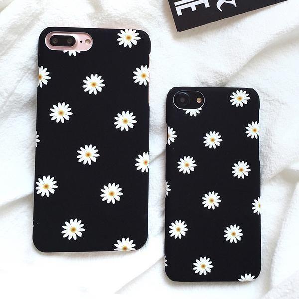 Daisy Flower Case für iPhone 7 & 7 7 plus #Blumen # Gänseblumen #ip …   – Iphone Hüllen