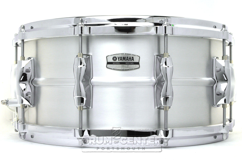 Yamaha Recording Custom Aluminum Snare Drum 14x6.5 | Snares ...