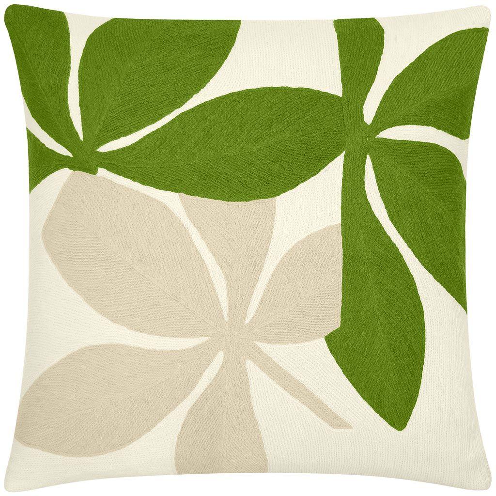 Fauna #pillow cream/lime/oyster